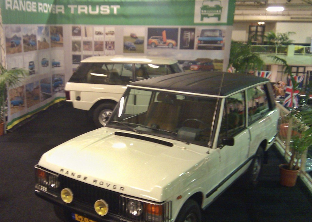 Range Rover Trust - clubstand